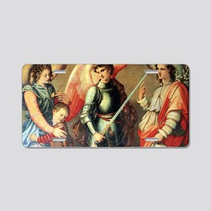 Archangels Aluminum License Plate
